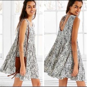 """Urban Outfitters Ecote """"Clary"""" Godet Trapeze Dress"""